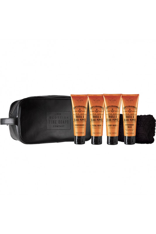The Scottish Men's Grooming Travel Bag 8041 Scottish Fine Soaps Company Gift Sets €23.90 product_reduction_percent€19.27