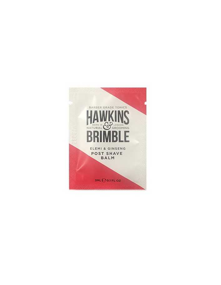 Hawkins And Brimble Elemi & Ginseng Post Shave Balm Gift 3ml 0686 Hawkins And Brimble Samples €0.00 €0.00