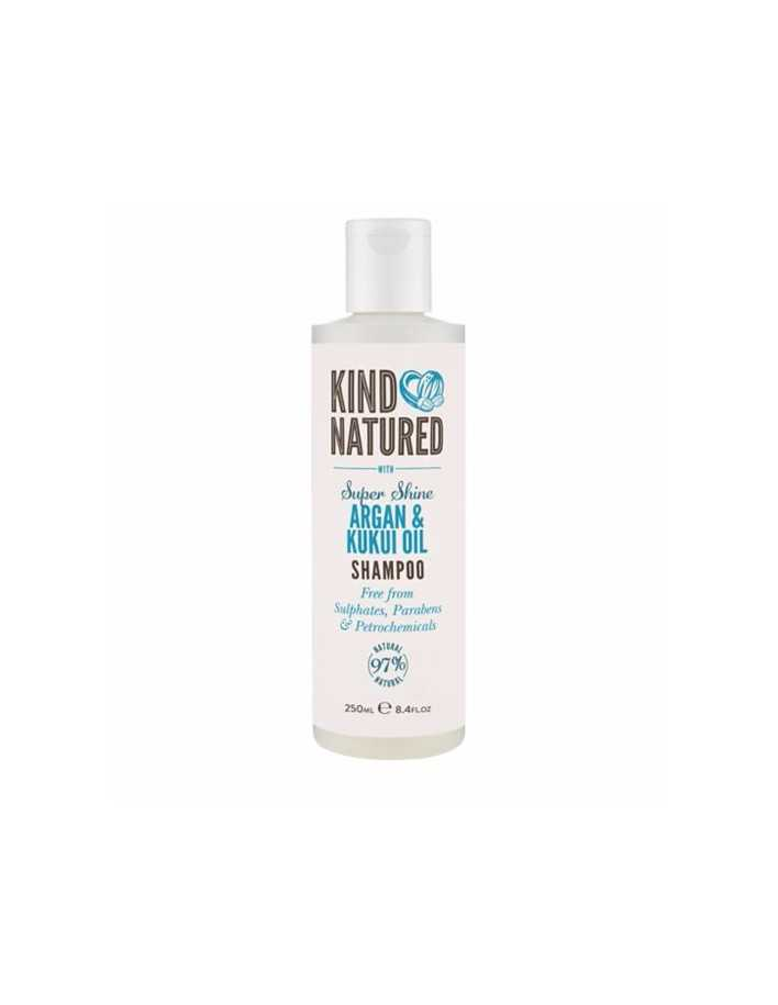 Kind Natured Super Shine Shampoo Argan & Kukui Oil 250ml 8157 Kind Natured Σαμπουάν €7.90 €6.37