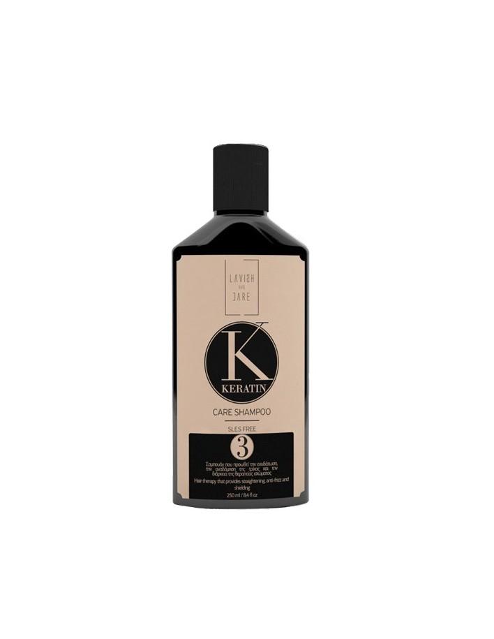 Lavish Care Keratin Care Shampoo Step 3 250ml 8400 Lavish Hair Care  Ξηρά €10.90 €8.79