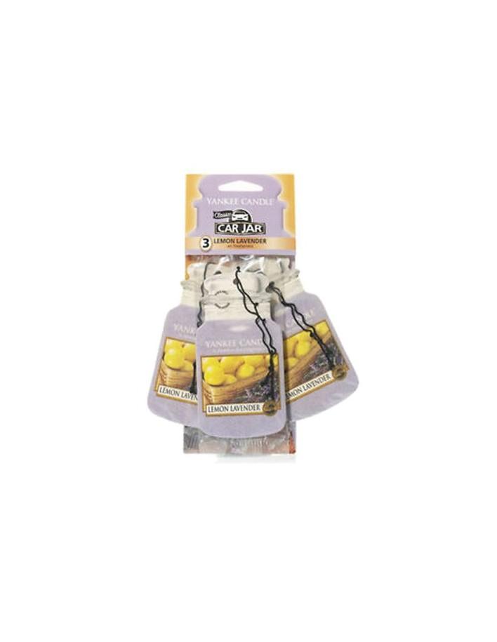 Yankee Candle 3 Pack Car Jar Air Freshener Lemon Lavender 8463 Yankee Candle  Κεριά & Αρωματικά Χώρου €4.90 €3.95