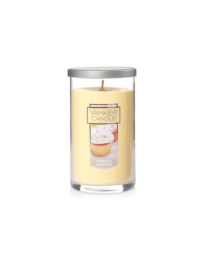 Yankee Candle Large Pillar Vanilla Cupcake 566g 8464 Yankee Candle  Κεριά & Αρωματικά Χώρου €12.90 €10.40