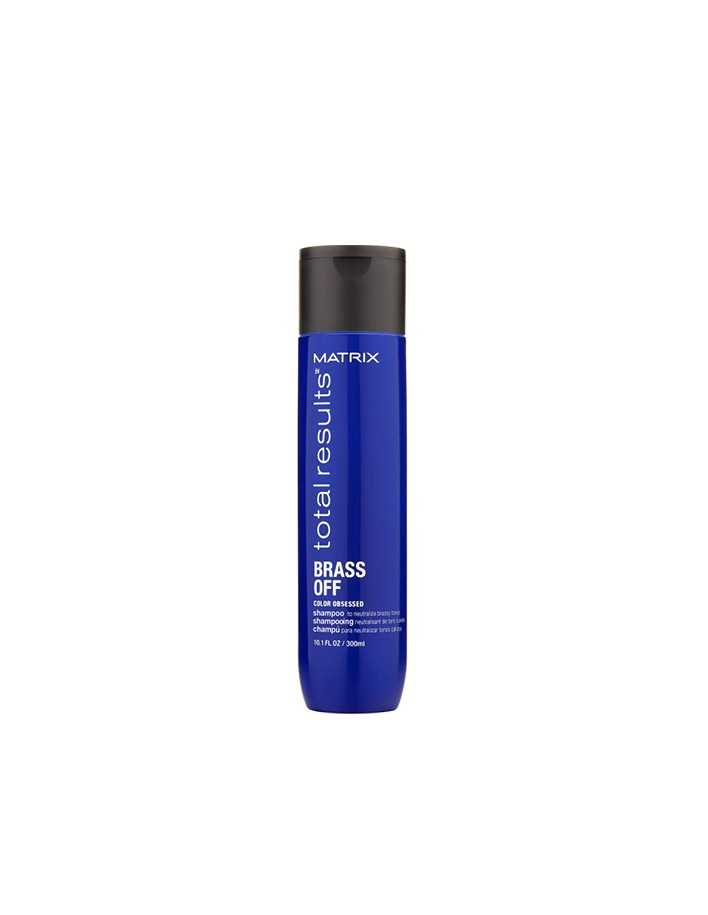 Matrix Total Results Brass Off Shampoo 300ml 8508 Matrix Professional Haircare  Βαμμένα €5.90 €4.76