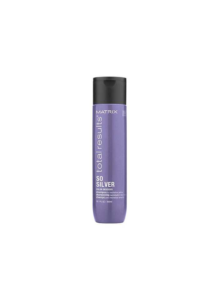 Matrix Total Results So Silver Shampoo 300ml 8510 Matrix Professional Haircare  Silver €5.50 €4.44
