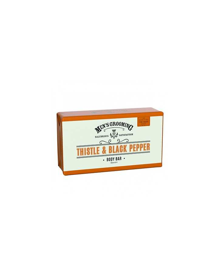 The Scottish Men's Grooming Body Bar 220gr 8530 Scottish Fine Soaps Company Σαπούνια €6.90 product_reduction_percent€5.56
