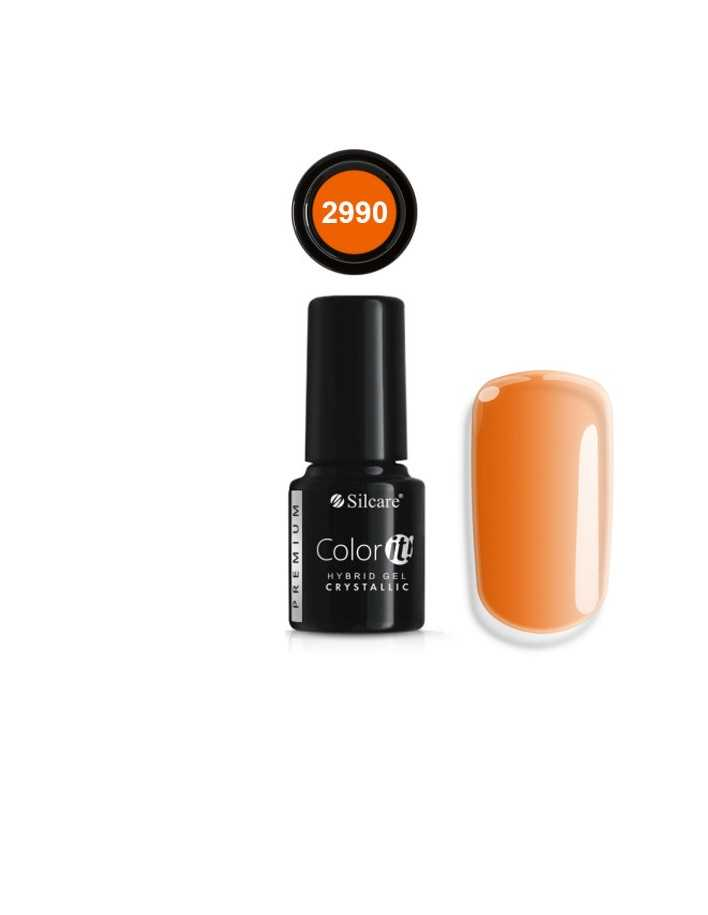 Silcare Color It! Premium Hybrid Gel Crystallic Collection 2990 6gr 8550 Silcare Ημιμόνιμο  €4.49 €3.62