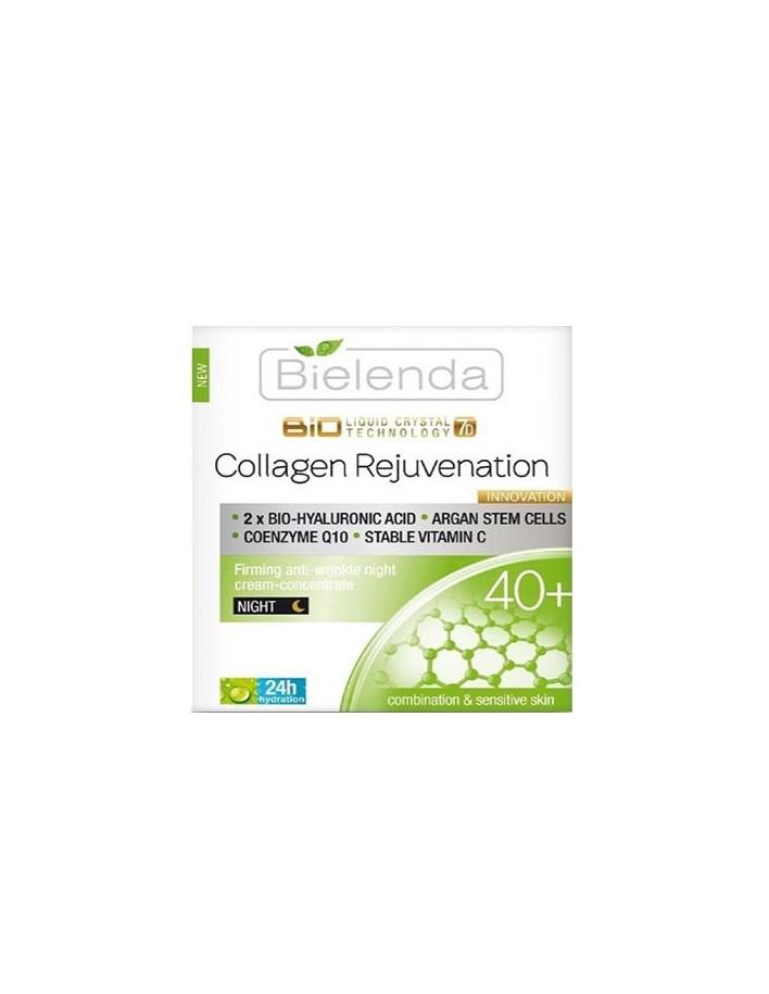 Bielenda Biotech 7D Collagen Rejuvenation Wrinkle Firming Night Cream 40+ 50ml 8754 Bielenda Professional Elasto lift 40+ €7....