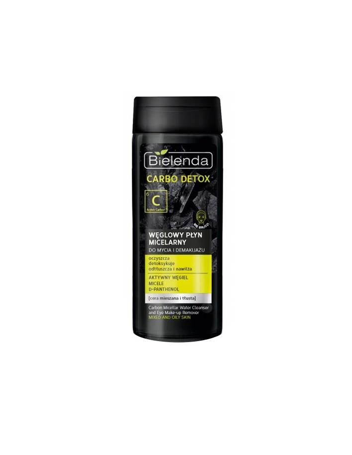 Bielenda Carbo Detox Charcoal Micellar Liquid 200ml 8794 Bielenda Professional Face Cleansers €4.00 €3.23