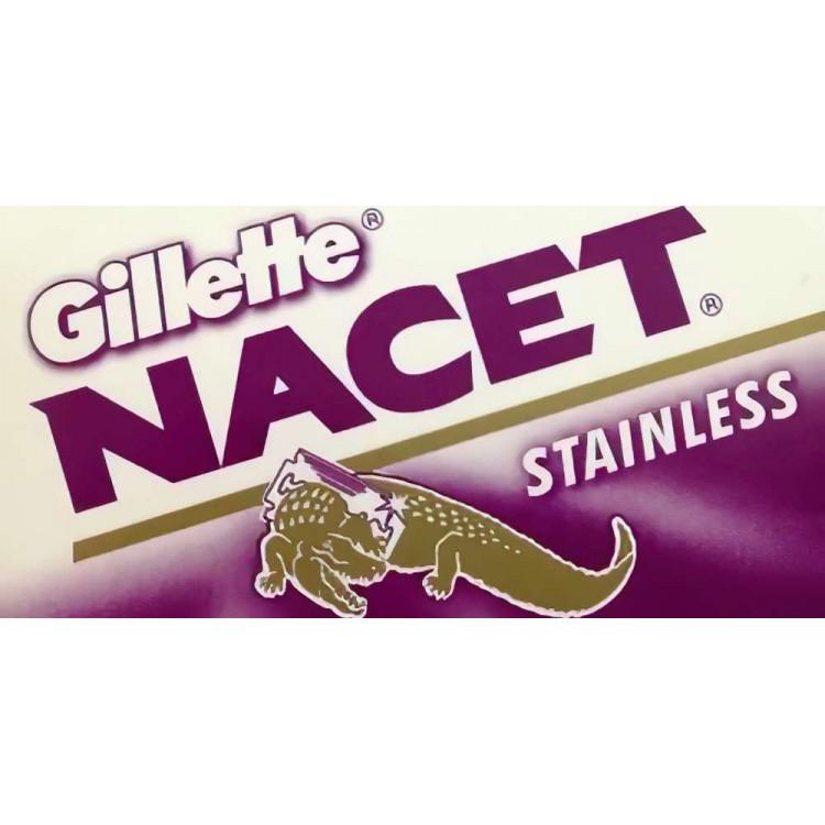 Λεπίδες Ξυρίσματος DE Gillette Nacet - 5 Ξυραφάκια 1032 Gillette Λεπίδες - Ξυραφάκια €1.60 €1.29