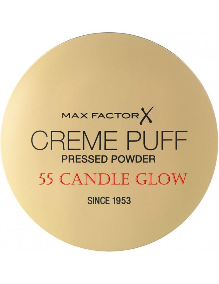 Compact Powder Creme Puff Max Factor 55 Candle Glow 11210 Max Factor Powder €5.90 -10%€4.76