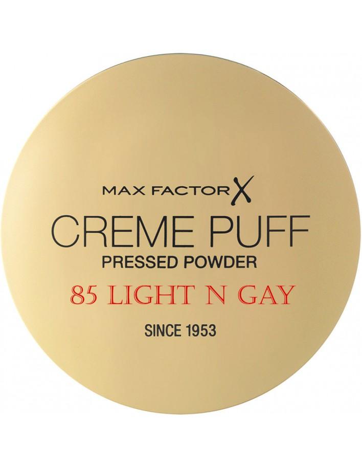Compact Πούδρα Προσώπου Creme Puff Max Factor 85 Light N Gay 11209 Max Factor Powder €5.90 -10%€4.76