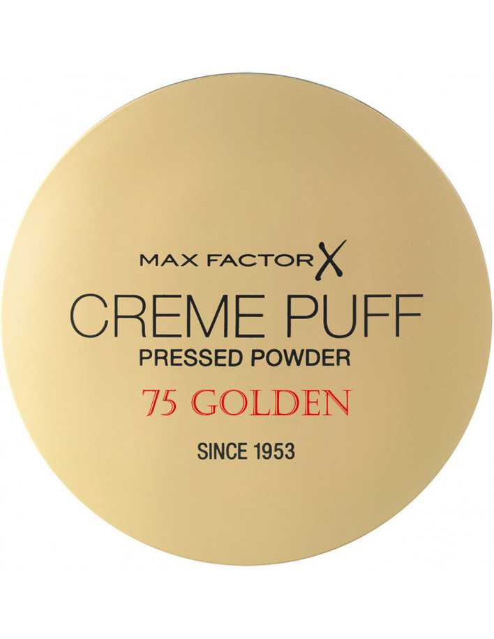 Compact Powder Creme Puff Max Factor 75 Golden 11208 Max Factor Powder €5.90 -10%€4.76