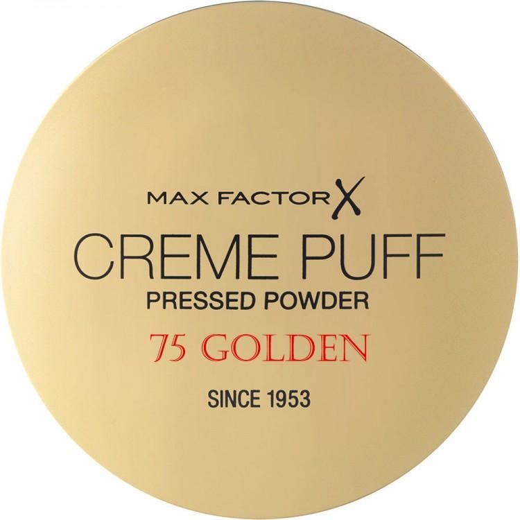 Compact Πούδρα Προσώπου Creme Puff Max Factor 75 Golden 11208 Max Factor Powder €5.90 -10%€4.76