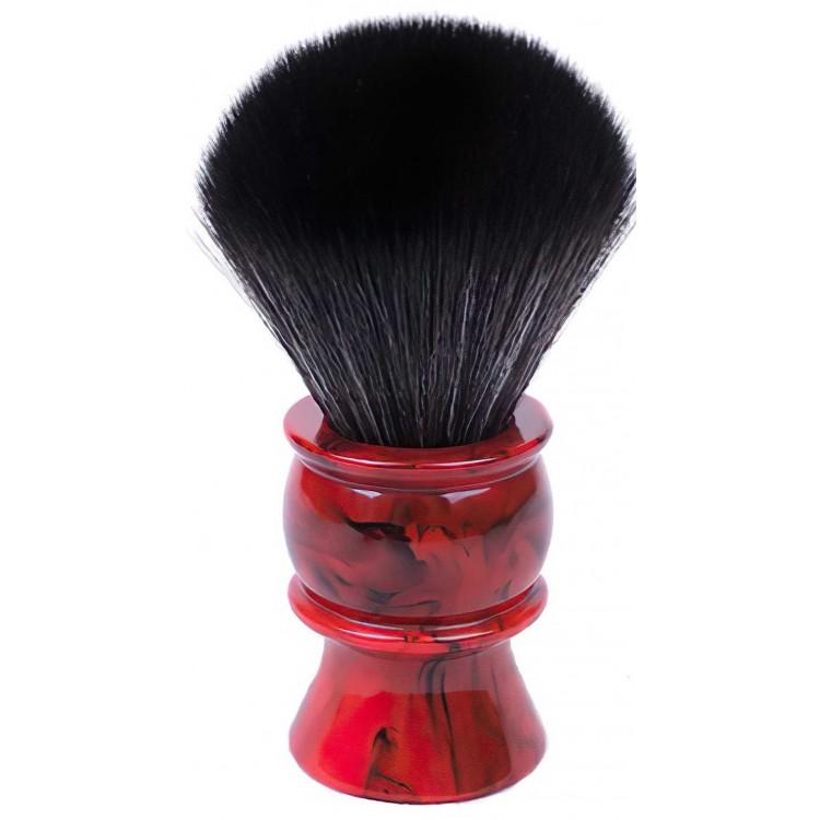 Συνθετικό Πινέλο Ξυρίσματος Yaqi Red Marble R1605S-26 Knot 26mm 9971 Yaqi Yaqi Brushes €21.43 -15%€17.28