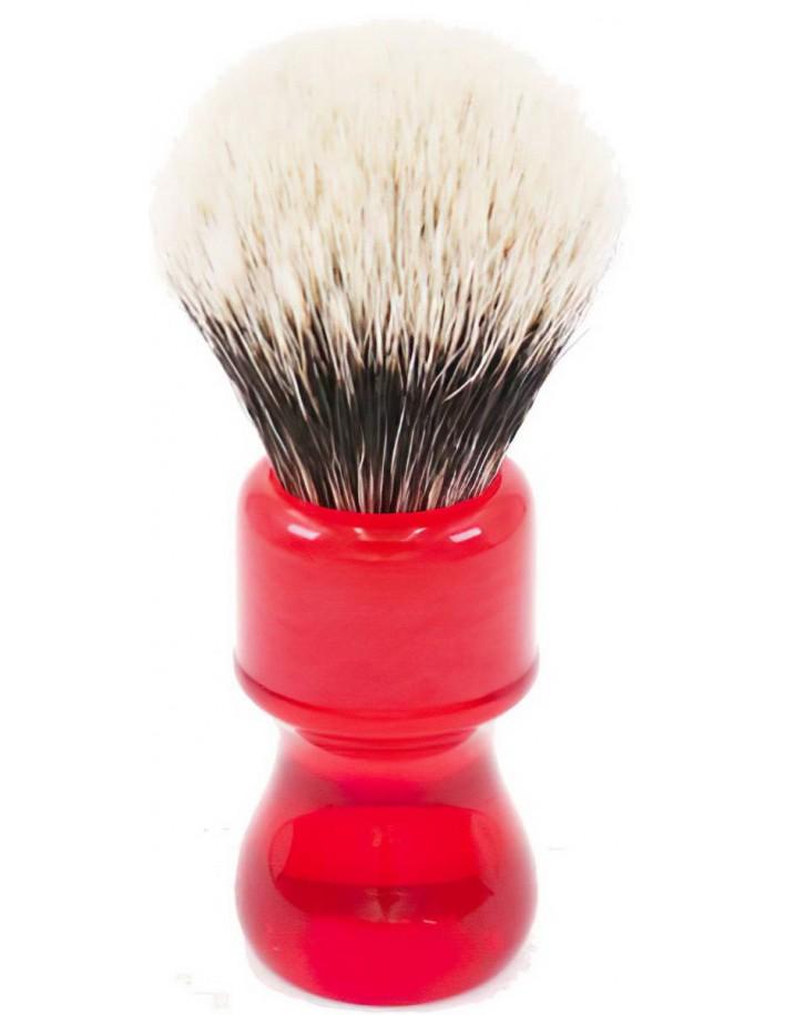 Yaqi Πινέλο Ξυρίσματος Ασβού Two Band Badger Ruby R1739-B Knot 24mm 10003 Yaqi Yaqi Brushes €35.05 -15%€28.27