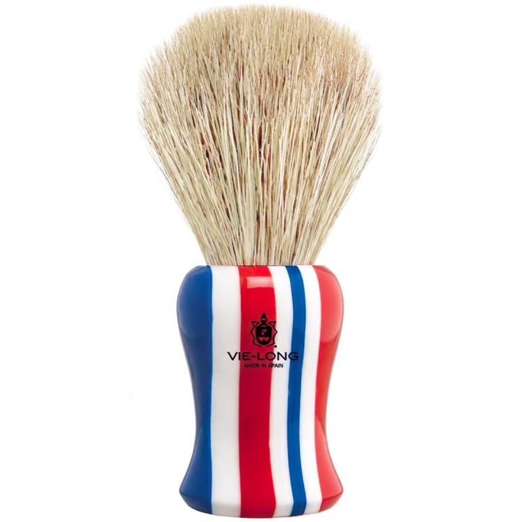 Πινέλο Ξυρίσματος Αλόγου Barbershop Με Λευκές Τρίχες Vielong B04613 Knot 21mm 11297 Vie-Long Πινέλα Αλόγου €28.46 -9%€22.95