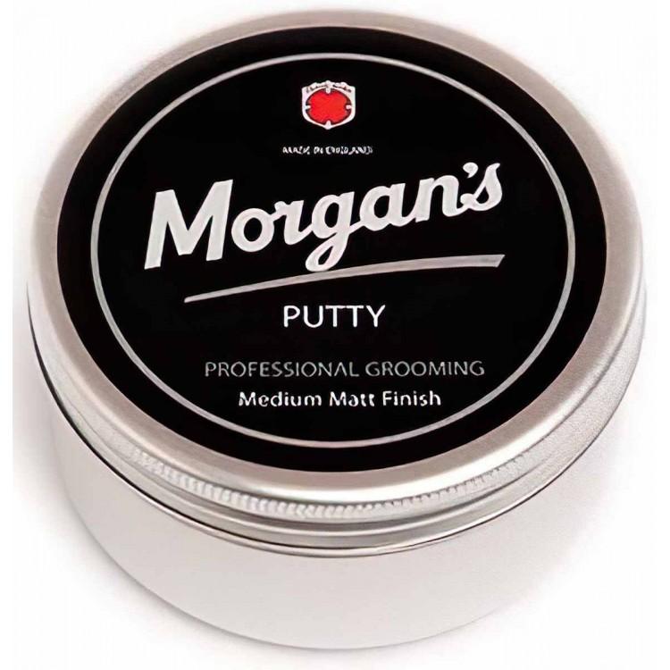 Morgan's Putty Medium Matt Finish 100ml 5540 Morgan's Pomade Medium Clay €8.90 €7.18