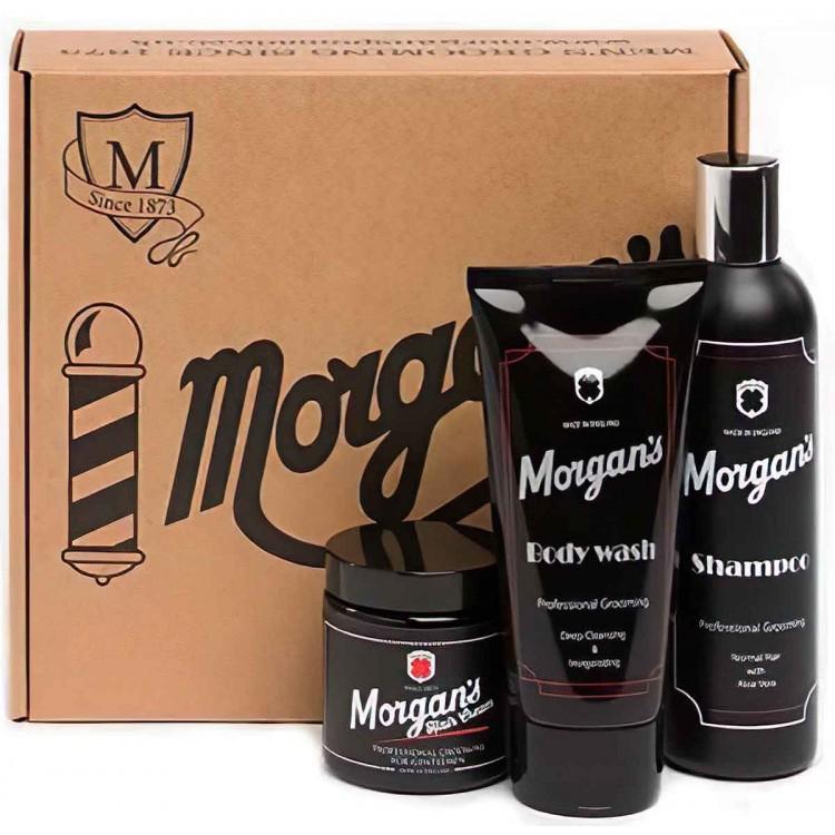 Morgan's Gentleman's Grooming Gift Set 6137 Morgan's Pomade Ιδέες & Δώρα €36.62 -20%€29.53
