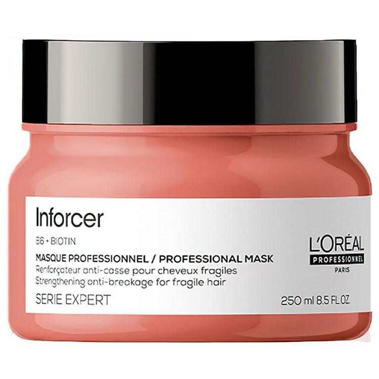 Μάσκα Μαλλιών Serie Expert Inforcer Anti-Breakage L'Oreal Professionel 250ml 11811 L'Oréal Professionnel Μάσκες Μαλλιών €19.9...