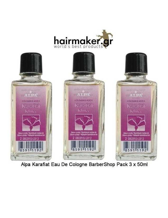 Alpa Karafiat Eau De Cologne BarberShop Pack 3 x 50ml 1674 Alpa  Barbershop Offers €14.70 -15%€11.85