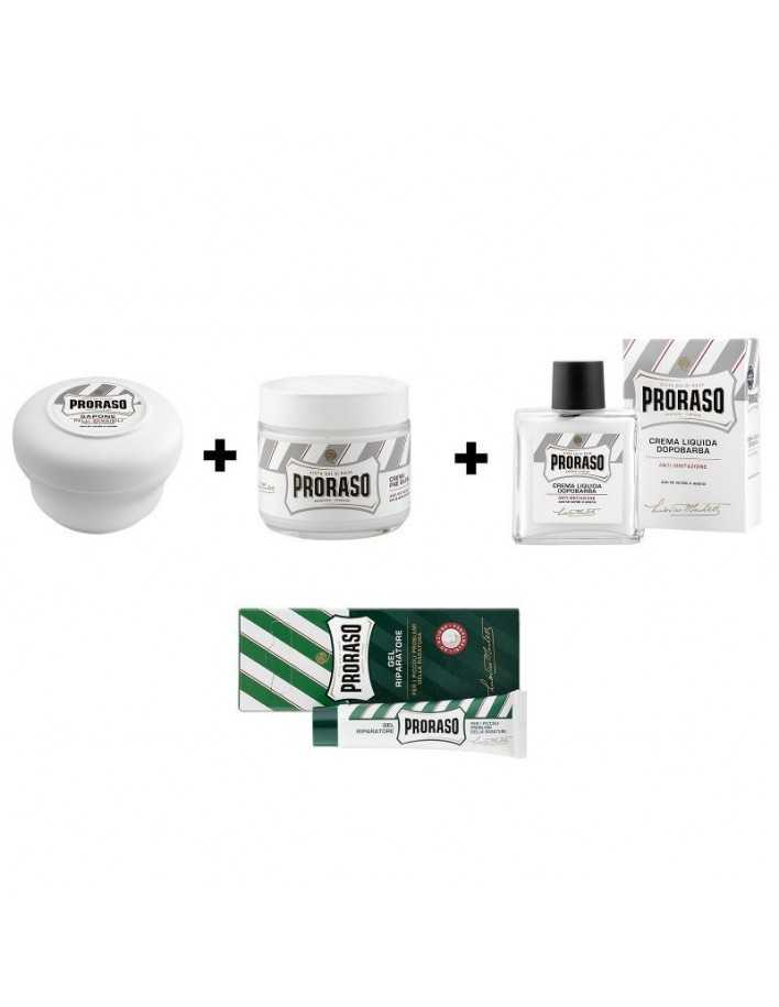 Proraso Shaving Starter White Pack 1809 Proraso Shaving Starter Kits €20.90 product_reduction_percent€16.85