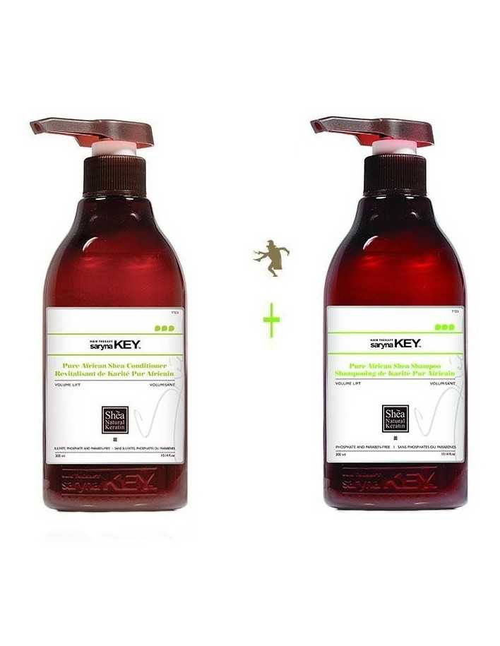 Saryna Key Volume Lift Gift Pack 5 Treatment Shampoo 300ml & Conditioner 300ml 2038 Saryna Key Προσφορές €45.80 product_reduc...