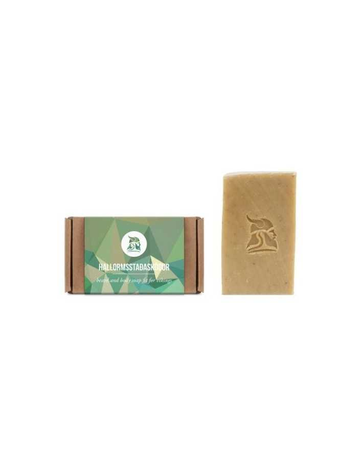Fit For Vikings Hallormsstaðaskógur Beard and Body Beer Soap 60gr 2523 Fit For Vikings Σαπούνι Γενιών €18.90 €15.24