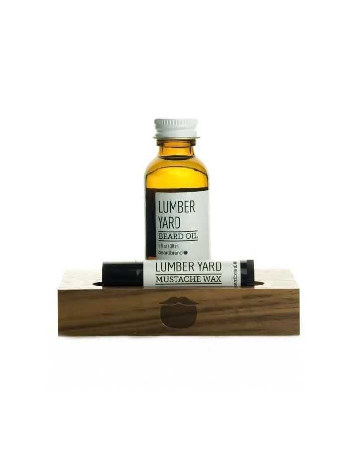 Beardbrand White Line Minimalist's Kit Lumber Yard Beard Oil 30ml & Mustache Wax 4.25gr 2614 Beardbrand Beard €44.90 product_...