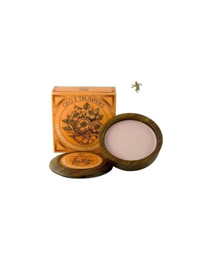 Geo F Trumper Almond Shaving Soap Wooden Bowl 80gr 2747 Geo F Trumper Σαπούνια Ξυρίσματος €24.90 product_reduction_percent€20.08