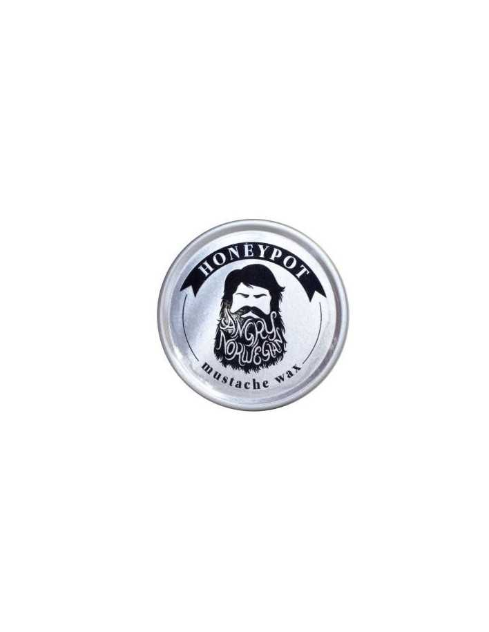 Angry Norwegian Honeypot Mustache Wax 15gr 3209 Angry Norwegian Κερί Για Μουστάκι €9.90 product_reduction_percent€7.98