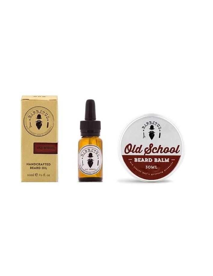 Barbatus Pack Old School Beard Oil 10ml & Beard Balm 30gr 3257 Barbatus Προσφορές Για Γένια €23.88 -20%€19.26