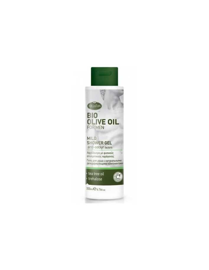 Kalliston Bio Olive Oil Mild Shower Gel 200ml 3385 Kalliston Natural Care Bath €5.90 product_reduction_percent€4.76
