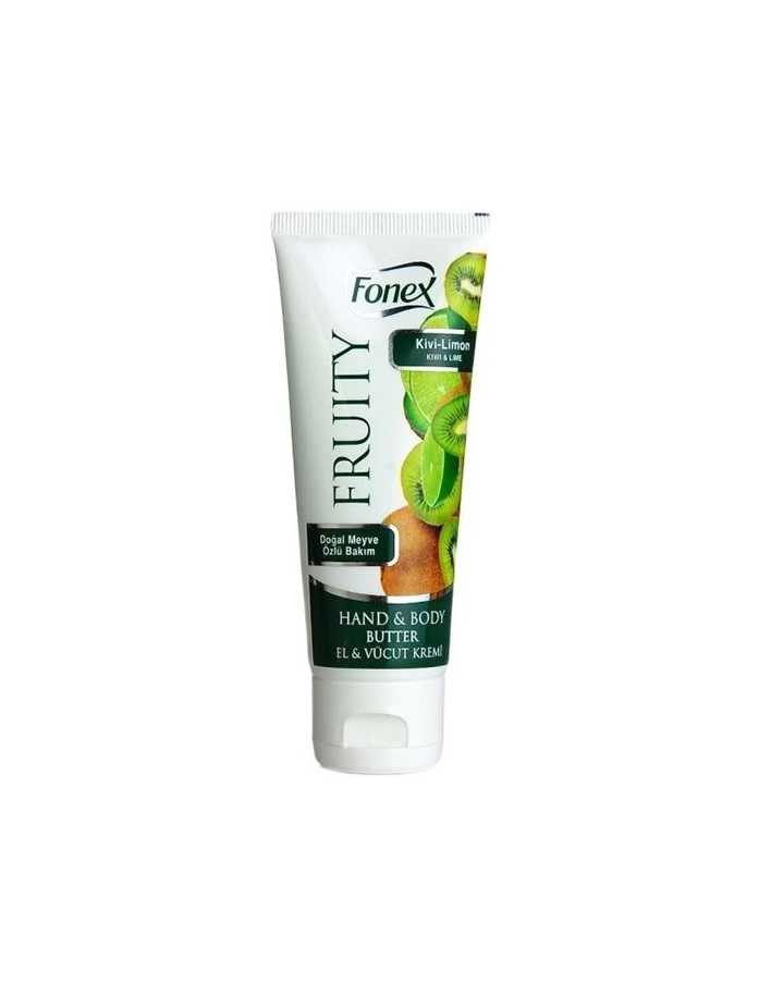 Fonex Fruity Hand & Body Butter Kiwi & Lime 75ml 3462 Fonex Κρέμες Χεριών €2.90 €2.34