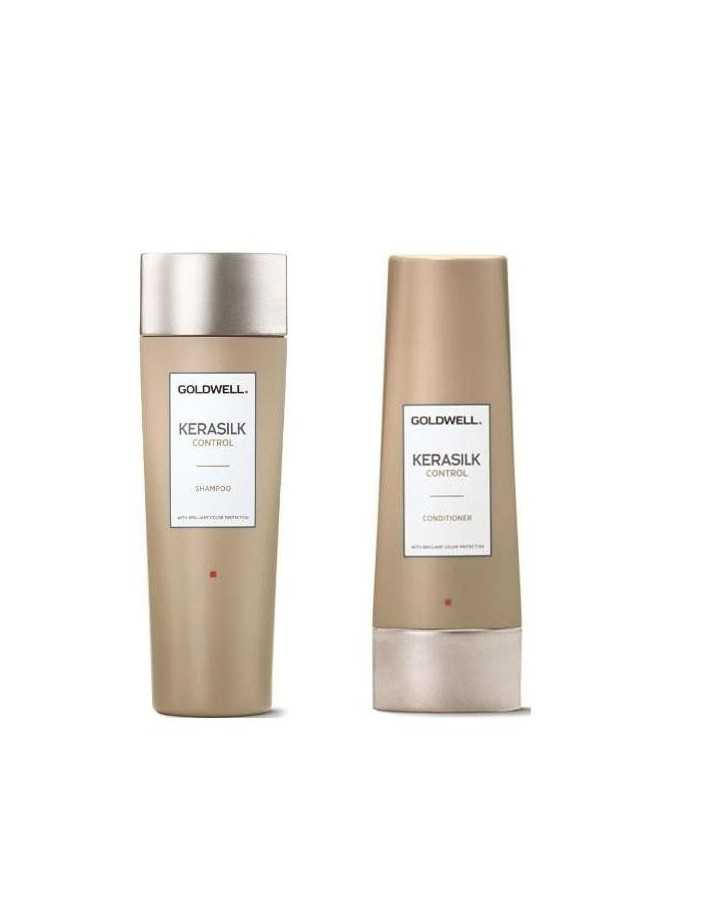 Goldwell Kerasilk Control Pack Shampoo 250ml & Condtioner 200ml 3618 Goldwell Hair €48.70 -10%€39.27