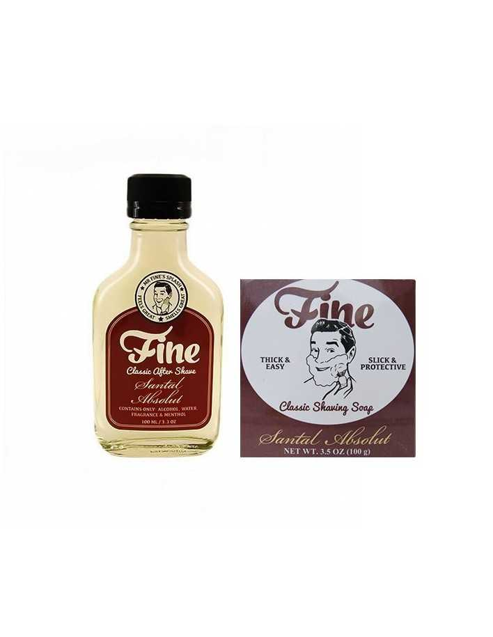 Fine Accoutrements Santal Absolut Pack Shaving Soap Refill 100gr & After Shave 100ml 3672 Fine Accoutrements Προσφορές €40.00...