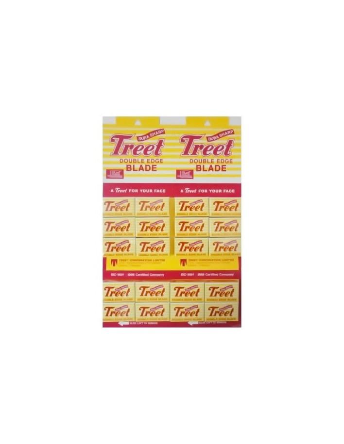 Ξυραφάκια Treet Dura Sharp Pack 200 Λεπίδες 3702 Treet   Ξυραφάκια €17.90 €14.44