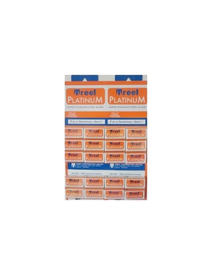 Ξυραφάκια Treet Platinum Pack 100 Λεπίδες 3703 Treet   Ξυραφάκια €12.90 €10.40