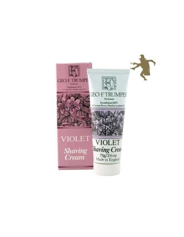 Geo F Trumper Violet shaving cream 75g 1225 Geo F Trumper Shaving Cremes €12.90 product_reduction_percent€10.40