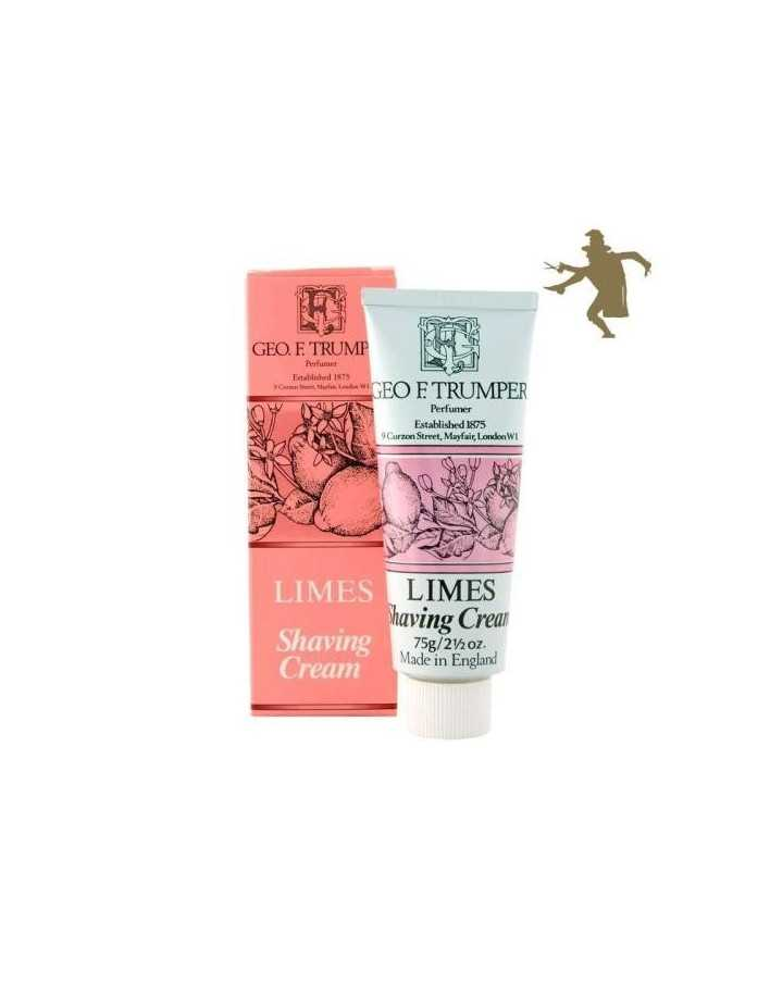 Geo F Trumper Limes shaving cream 75g 1221 Geo F Trumper Shaving Cremes €12.90 product_reduction_percent€10.40