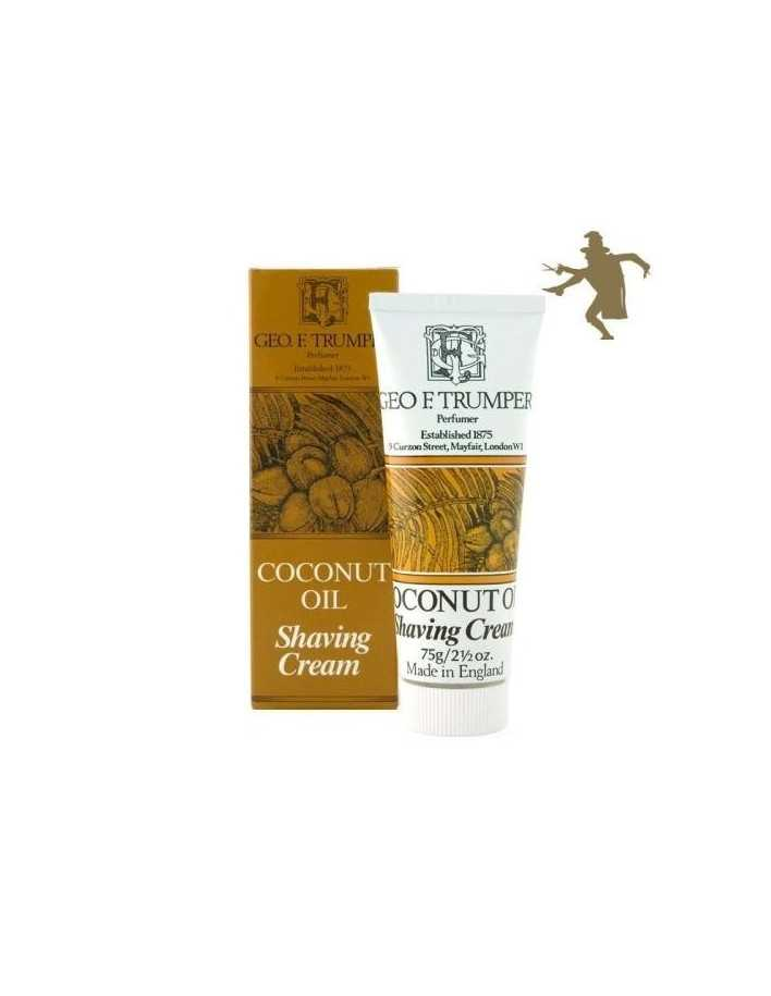 Geo F Trumper Coconut Oil shaving cream 75g 1220 Geo F Trumper Shaving Cremes €12.90 product_reduction_percent€10.40