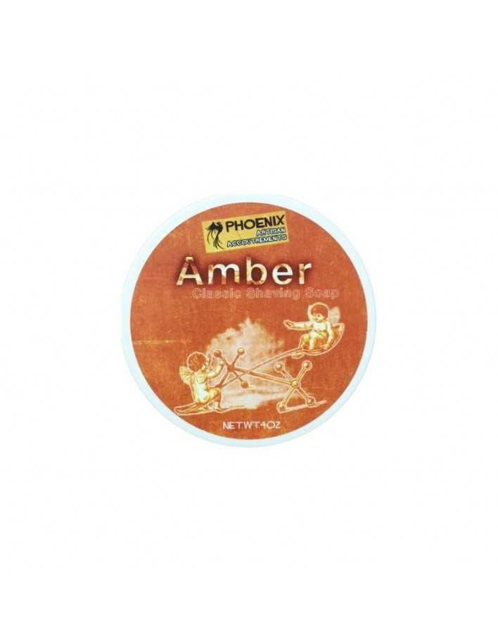 Phoenix Artisan Accoutrements Amber Shaving Soap 114gr 3797 Phoenix  Artisan Shaving Soap €18.90 product_reduction_percent€15.24