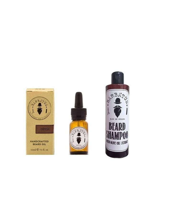 Barbatus Beard Shampoo 250ml & Barbatus Beard Oil Coffee 10ml Pack 3876 Barbatus Γένια €26.78 product_reduction_percent€21.60