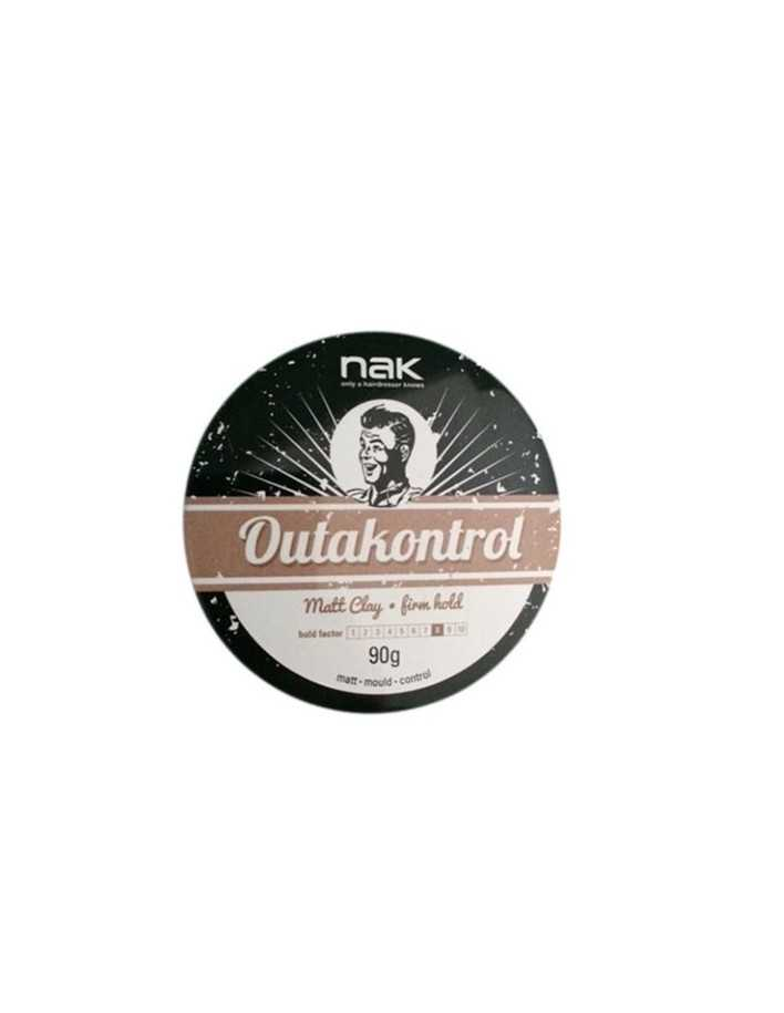 Nak Mat Clay Outakontrol Firm Hold 90gr 3295 Nak Strong Clay €15.90 €12.82