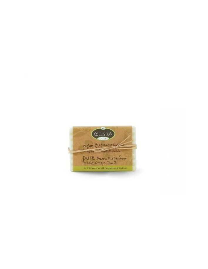 Kalliston Olive Pure Handmade Soap & Chamomile Leaves 100gr 4149 Kalliston Natural Care Soaps €2.20 €1.77