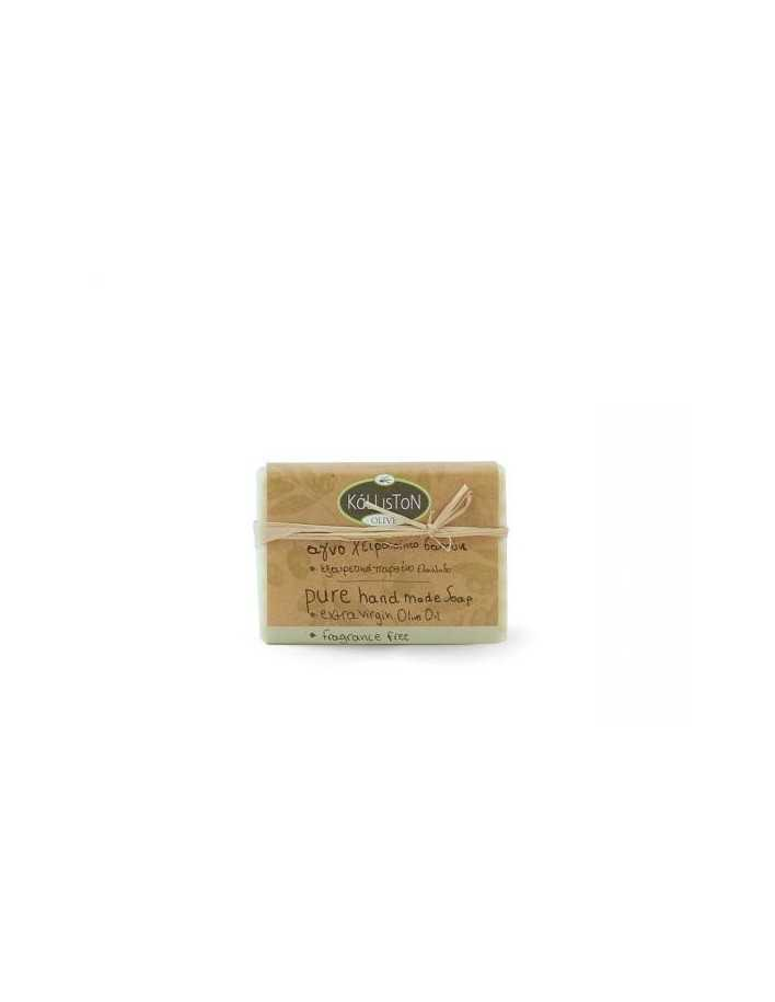 Kalliston Olive Pure Handmade Soap Fragrance Free 100gr