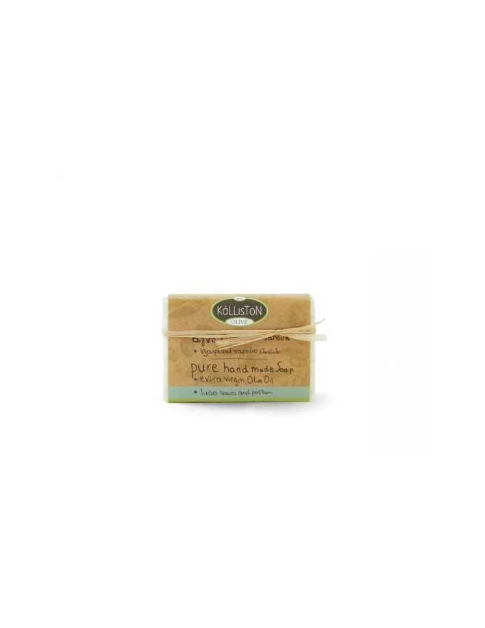 Kalliston Olive Pure Handmade Soap & Luisa Leaves 100gr