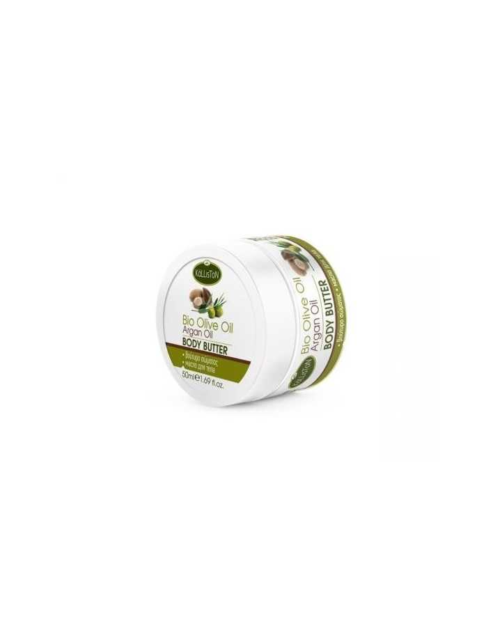 Kalliston Bio Olive & Argan Oil Body Butter 50ml 4168 Kalliston Βούτυρο Σώματος €3.95 product_reduction_percent€3.19
