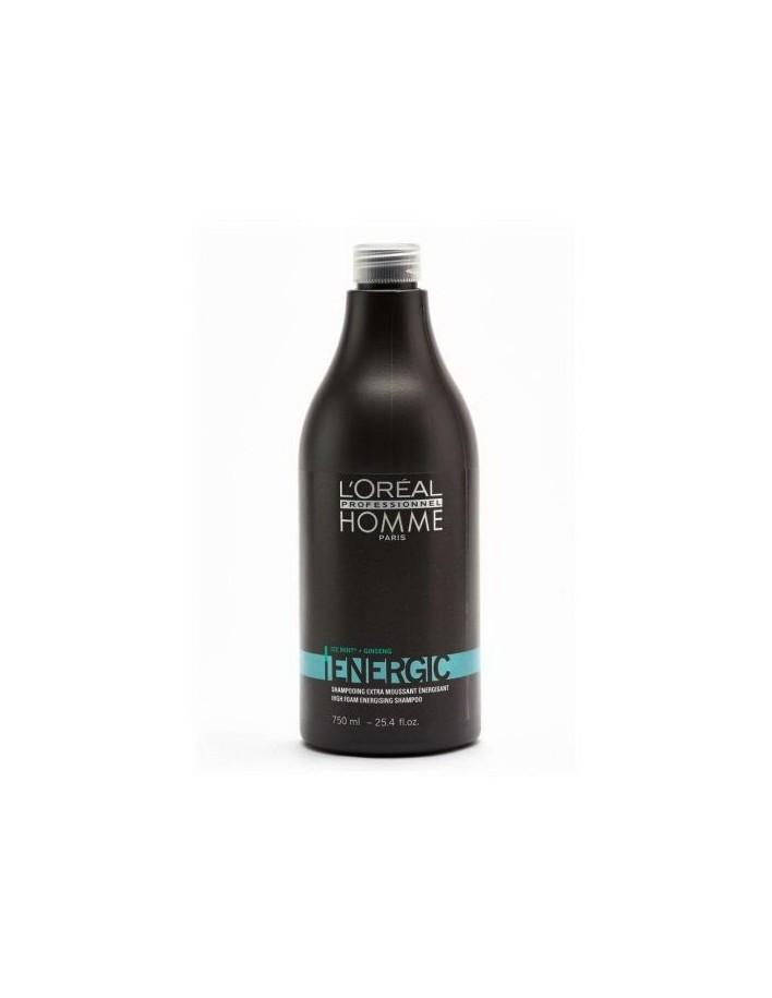 Loreal Professionnel Homme Energic Shampoo 750ml