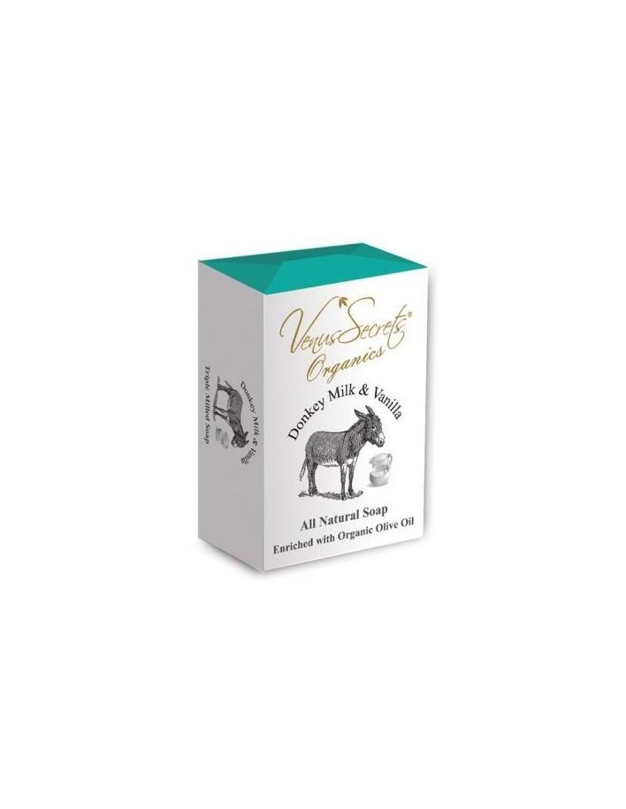 Venus Secrets Φυσικό Σαπούνι Με Γάλα Γαϊδάρας & Βανίλια 150gr 4269 Venus Secrets Σαπούνια €3.65 €2.94
