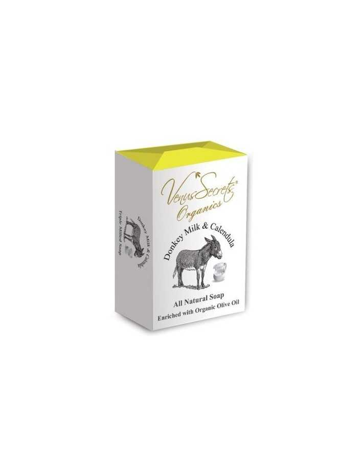 Venus Secrets Φυσικό Σαπούνι Με Γάλα Γαϊδάρας & Καλέντουλα 150gr